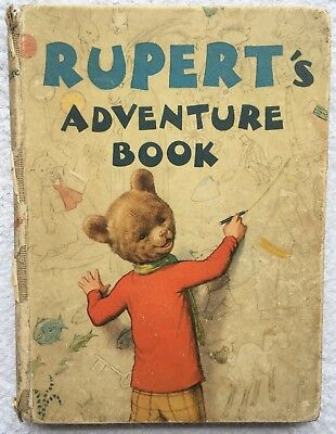 RUPERT BEAR ANNUAL 1940 ORIGINAL Not INSCR CLEAN CONTENTS G/VG EXAMPLE JAN SALE!