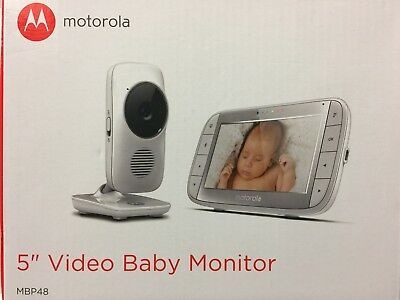 "Motorola MBP48 5"" Video Baby Monitor With Infrared Night Vision"