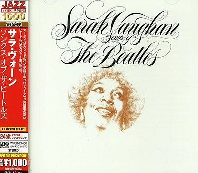 Songs Of The Beatles - Sarah Vaughan (2013, CD NUOVO)