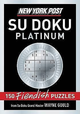 New York Post Platinum Su Doku by Gould, Wayne