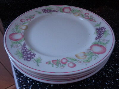 Boots Orchard Dinner Plates X 4