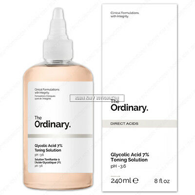 The Ordinary Glycolic Acid 7% Toning Solution 240ml Alpha Hydroxy Acid