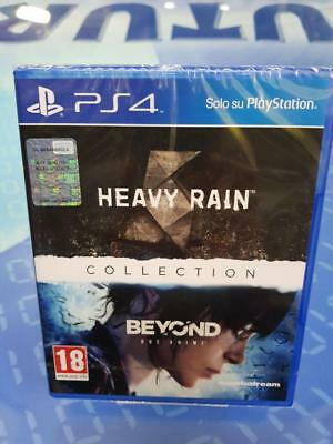 HEAVY RAIN + BEYOND DUE ANIME COLLECTION - GIOCO Playstation 4 PS4 NUOVO SIGILLA