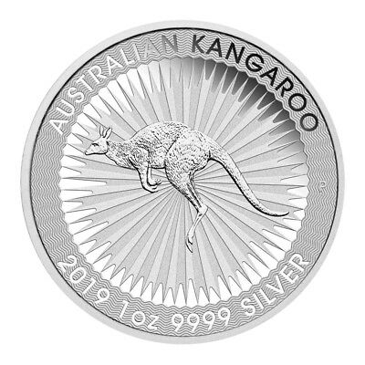 The Perth Mint 1 OZ Silber Silver Münze 2019 Australian Kangaroo 1 Unze