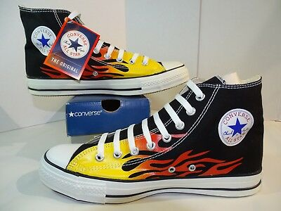 d3182fdf9ce3 Converse Chuck Taylor All Star Hi Top Flame 1H731 Hot Rod Ignite Fire M 10 W