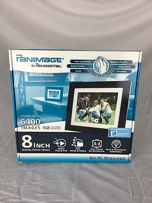 Panimage By Pandigital 7 Inch Digital Photo Frame Model Number