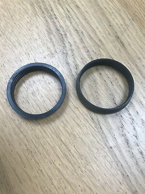 """40mm / 1 1/2"""" Tapered waste Trap Oulet Sealing Washer Compression Waste 2 pack ."""