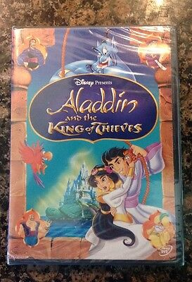 Aladdin and the King of Thieves (DVD,2005)NEW Authentic Bueno Vista Sealed