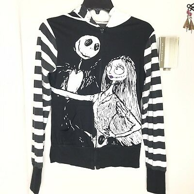 Nightmare Before Christmas Hoodie Jack Skellington B4 Xmas Tv Hooded