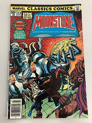 Marvel Classics Comics #23 MOONSTONE by Wilkie Collins (1977) NM- 9.0/9.2