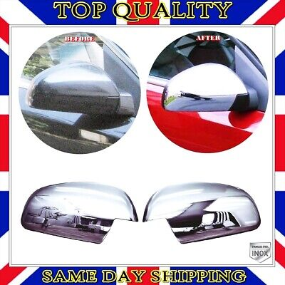 S.STEEL Chrome Mirror Cover 2 pcs Vauxhall Opel Vectra C / GTS - Signum 2002+