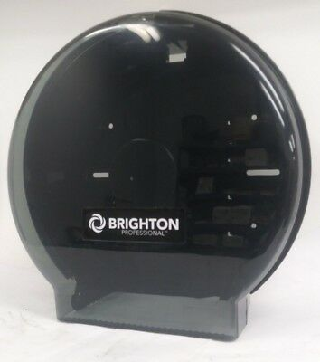 New, Brighton Professional Single Jumbo Toilet Tissue Dispenser, Smoke Black