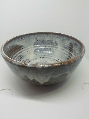 Eric Hewell Hewell Family Gillesvile, GA pottery large centerpiece Bowl