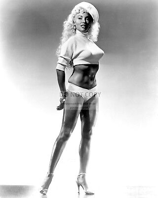 "Lilly Christine Burlesque Dancer ""The Cat Girl"" - 8X10 Publicity Photo (Da-754)"
