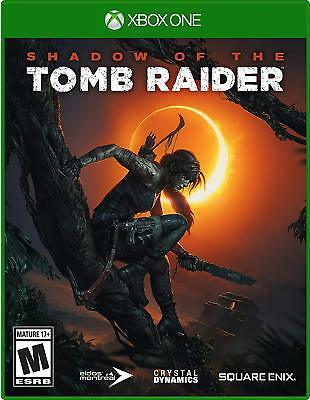 Shadow of the Tomb Raider (Xbox One) * Brand New Sealed  * SHIP IN 24 HRS