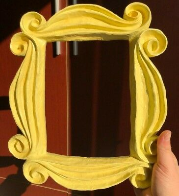 Yellow Peephole Frame from Monica's Door on Friends TV show