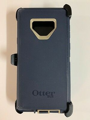 OtterBox Defender Case With Holster for Samsung Galaxy Note 9 Dark Lake Blue