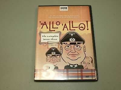 Allo Allo - The Complete Series Three (DVD, 2005, 2-Disc Set) BBC VIDEO