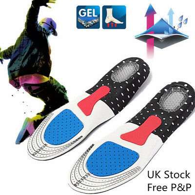 Silicone Support Shoe Pads Gel Orthotic Plantar Care Insert Insoles Cushion UK D