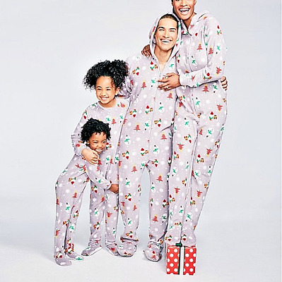 FAMILY PAJAMAS MACY S Baby Toddler 1-Pc Footed Pajama B17104752 ... f7b64a311