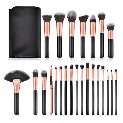 AU 24 Professional Makeup Brush Kit Set Cosmetic Make Up Beauty Brushes with Bag