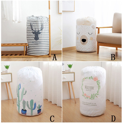 43x82cm PEVA Foldable Storage Bag Clothes Blanket Quilt Closet Sweater Pouches