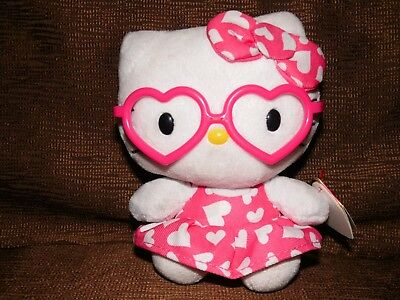 Ty Beanie Baby Hello Kitty Plush NWT - Valentine's Day Issue