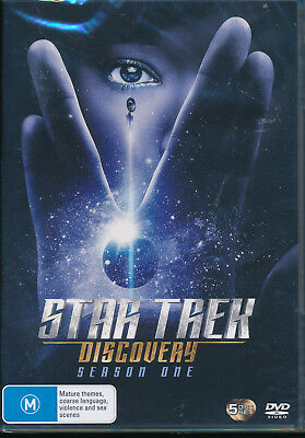 Star Trek Discovery Season One 1 First DVD NEW Region 4