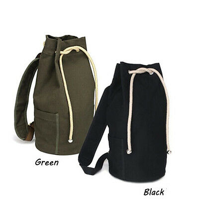 Outdoor Sport  Pack Gym Duffle Bag Drawstring Backpack for Travel School VQ