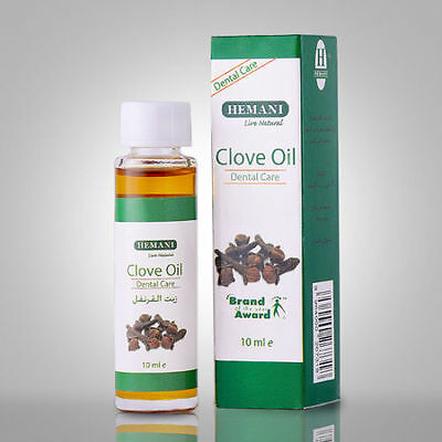 Hemani Clove Oil  100% Natural. Dental/Oral Care, Toothache. 10ml