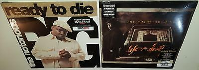 Notorious Big Ready To Die + Life After Death Brand New Sealed Vinyl Lp Lot