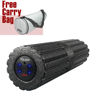 "Vulken 4 Speed High Intensity 17"" Vibrating Foam Roller for Muscle Recovery"
