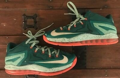 best cheap adc20 eb319 NIKE LEBRON 2014 Mens 10 SOUTH BEACH MIAMI BASKETBALL SHOE SNEAKER 1 2 3 4 5