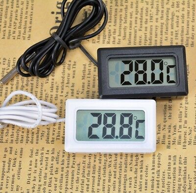 Newest Fridge Thermograph Digital LCD Probe Thermometer for Refrigerator Freezer