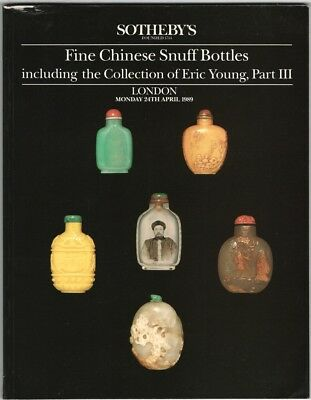 Chinese Snuff Bottles - Eric Young Collection Part III - Sotheby's 1989 Catalog