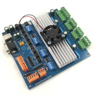 MACH3 4 Axis USB TB6560 Stepper Motor Driver Board with MPG USB Port dl45