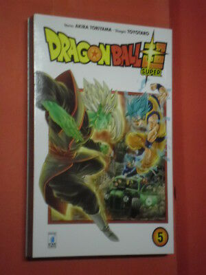 DRAGON BALL- SUPER- N° 5- DI:AKIRA TORIYAMA- MANGA STAR COMICS- nuovo