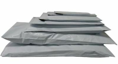 Mailing Postal Postage Packaging Poly Bags Strong Mail Self Seal Grey All Sizes