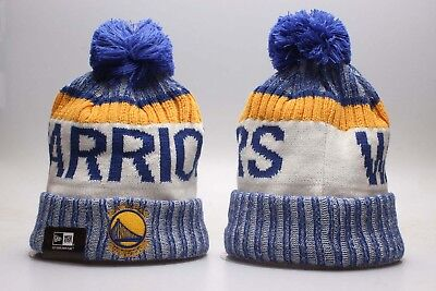 2f1c63b69fa Stephen Curry Warriors NBA Basketball Hat Beanie Fan Winter Knit Lint Cap