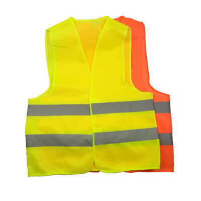High Visibility Running Reflective Vest Security Equipment Night Work Top 2Tpyes