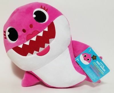 Wow Wee Pinkfong MOMMY Shark Plush Doll (PINK) NEW Official Fast Ship TOY-00032