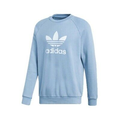 Adidas Originals - FELPA TREFOIL WARM-UP CREW - FELPA CASUAL  - art.  CV8643