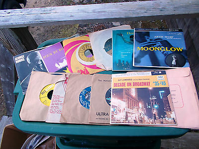 ~~ Lot Of 10 ---  45 RPM Records ~~Plus some freebies ~~ SEE DESCRIPTION ~~