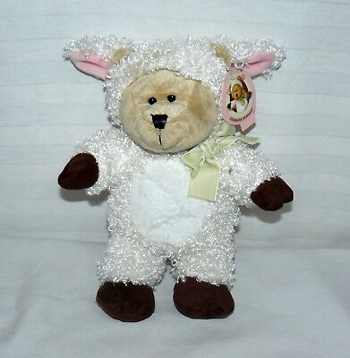 Starbucks Bearista Bear Plush White Lamb 83rd Edition With Tags Used