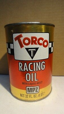 TORCO RACING OIL Quart Fiber Can Full Bin 71-1