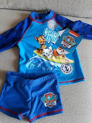 ded96f4b6a488 Paw Patrol Swim Suit BN 18-24 Months ideal christmas present