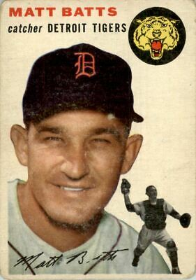1954 Topps #88 Matt Batts - FAIR