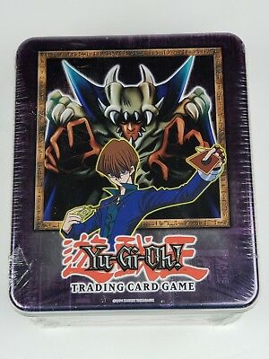 2002 Yu-gi-oh Collectible Tin  Lord of D.  Collectible Tin   **Sealed**  ~RARE~
