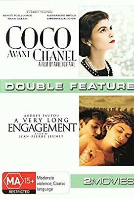 COCO AVANT CHANEL/A VERY LONG ENGAGEMENT (Audrey Tartou) FRENCH/subs  NEW 2 DVDs