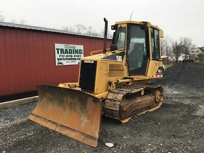 2007 Caterpillar D3G XL Crawler Dozer w/ Cab & 6 Way Blade!